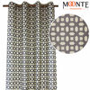 Updated Polyester Silk Grommet Curtains Accessory