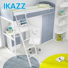 Crianças inteligentes conjuntos de móveis de quarto e cama guarda-roupa