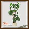 artificial philodendron bonsai plant / artificial potted plants