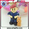 3d cartoon small toys plastic figurines