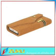 Rat velvet wallet card-slot pu leather cell mobile phone case