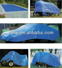 hdpe pe tarpaulin plastic car cover