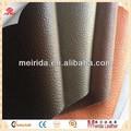 pvc de cuero sintético tela para la decoración de interiores