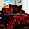 Popüler 100% pamuk 3d yatak örtüsü setleri