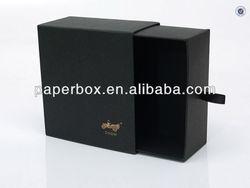 black drawer cd box gift box rigid gift box