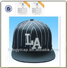 De moda gorra plana, alta calidad del bordado del Snapback gorras de plato