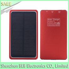 Top quality 4000mah digital camera solar charger