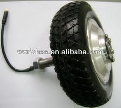8 inch single shaft scooter motor wheelchair motor