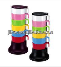 hot new product/Rainbow cups set/coffee cup/coffee mug/tea set/arabic six