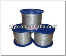 steel rope in plastic reel