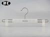 HA1348 transparent plastic clips hanger clamps pants hanger