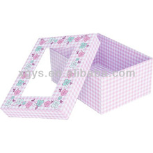 Pure Pink Gift Packaging Box (XG-GB-413)