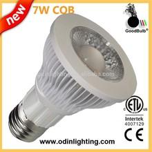 led dimmable par20 7w, led bulb led spot light, UL ETL PSE ,600/650lm,AC120/230V, 3 years warranty