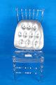 trasparente resina sedia di chiavari