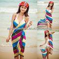 Praia de verão do feriado sexy bali sarong pareo/sarong pareo para a promoção