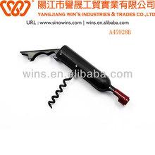 Carbon Steel Bottle Opener Wine Corkscrew