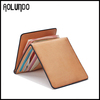 2014 Newest design vintage vegetable leather wallet money clip