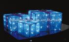 christmas decoration gift box led light outdoor