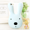 Newest Korea style cartoon 3D Silicone Animal Rabbit Case For iphone 5
