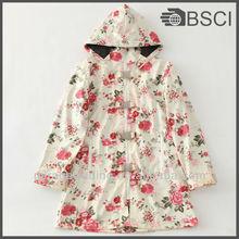 Bayan moda elbise pu yağmurluk/deri ceket panço