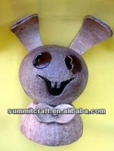 Fashion oem cocnut goblin coconut shell made handicraft