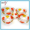 2014 Hot sales hand painted glass bowl whloesale