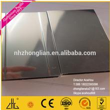 20um anodized polished aluminium.mechanical polishing oxidation process.chemical polishing.aluminum profile for shower factory
