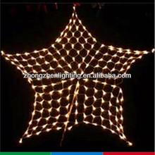 LED star meshwork lamp christmas net light holiday fish net light