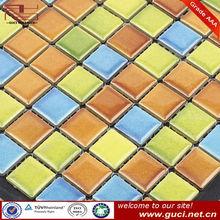 colored glaze mosaic pattern decorative wall tile
