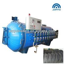 waste tyre pyrolysis equipment/tyre retreading machine