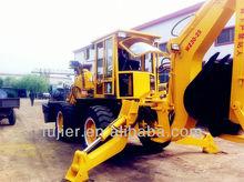 High excavating loader configuration 30-25