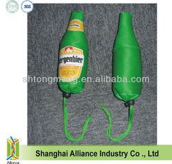 Beer Bottle/Glass/Cup Promotional Foldable Shopper Bag