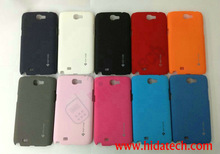 matte case back cover for samsung galaxy note2 II N7100,Mobile Phone Case for Samsung Galaxy Note 2