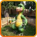 dinossauro personagem dos desenhos animados modelo animatronic dinossauro dos desenhos animados