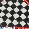 verniz fosco preto e branco mosaico cerâmico azulejo
