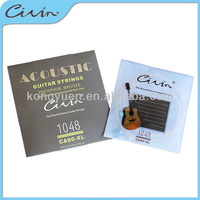 colorful hex core strings for 12 string acoustic guitar