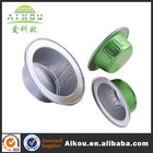 Heat resistant disposable vacuum sealed food containers with lids