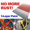 3-Layer anti-corrosion coating system steel epoxy paint