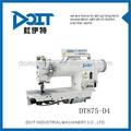 Dt875-d4 de accionamiento directo informatizado doble aguja de coser máquina