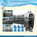 Automático de mineral puro barril de agua galones 5 máquinadellenado/planta
