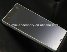 Anti-glare screen protector for Sony Xperia Z fingerprint resistant mobile screen guard