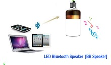 BB speaker Valentine's Day indoor Wireless Bluetooth Speaker E27 adjustable LED Lamp Bluetooth Loudspeaker