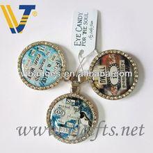 2014 Promotion clock watch keychain