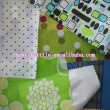 100 polyester 210t 190t printed taffeta lining