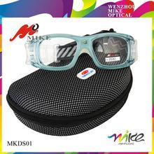 Protective sports sunglasses basketball goggle with elastic band