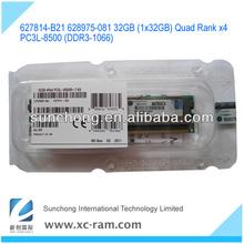 627814-b21 hight quality 1333mhz ddr3 ecc ram 32gb accept t/t