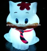 Led cat shaped stuffed toys