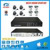 HDMI cctv dvr with 700 TVL Sony CCD Cameras cctv dvr