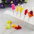 Geburtstag Brief geformten kerzen