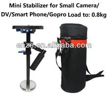 ET-ST02 Mini Cam Stabilizer steadicam for Small Camera/ DV / Smart Phone/ Gopro Max Load: 0.8KG Camera Stabilizer China